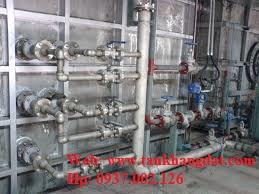 Lắp đặt hệ thống đường ống nước process water
