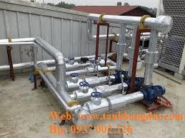 Hệ thống đường ống chiller, ice water, hệ thống lạnh.